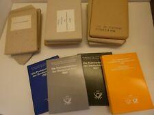 Jahrbücher DDR postfrisch gestempelt z.T. originalverpackt zur Wahl unter 10% Mi