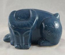 Vintage MCM Ceramic Cubist Style Bull Sleeping
