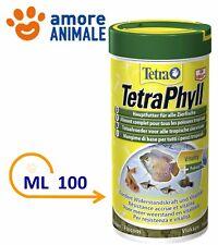 Tetra TetraPhyll 100 ml - Mangime in fiocchi per pesci tropicali
