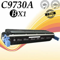 1PK C9730A Laser Black Toner For HP LaserJet 5500 5500DTN 5500DN 5550N Printer