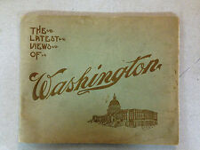 "1909 ""The Lastest Views of Washington"" Pictorial Book"