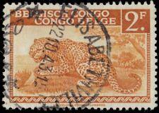 "BELGIAN CONGO 218 (Mi240) - African Leopard ""Belgish Congo"" (pa90348)"