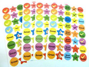 Bambini Ricompensa & Merito Adesivi Etichette Per Bambini AP50