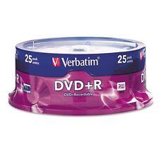 Verbatim AZO DVD+R 4.7GB 16X Branded 25-Pack Spindle