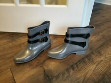 Vivienne Westwood Melissa Anglomania Gray Ankle Boots US 9 EUR 40 FREE SHIP
