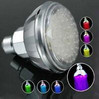 Romantic Automatic 360° 7 Color LED Shower Head Facut Home Bathroom