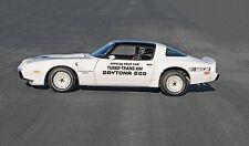 1981 PONTIAC TURBO TRANS AM PACE CAR POSTER | 24 x 36 INCH | CLASSIC CAR