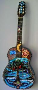stained glass mosaic art mixed media art