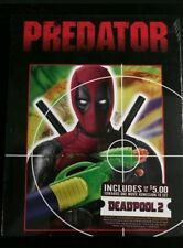 PREDATOR blu-ray - Deadpool Photobomb Walmart Exclusive & Movie Cash