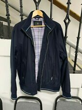 """Gents Light Weight Navy Blue Marks & Spencers Jacket XL 52"""" Chest"""