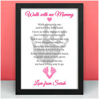 Happy Birthday Mummy Gifts from Daughter PERSONALISED Womens Birthday Presents