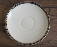 Minton St James Saucer Cream with Blue & Gilt Border.
