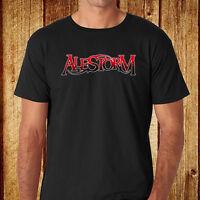 New Alestorm *Logo Heavy Metal Band Men's Black T-Shirt Size S-3XL Free Shipping