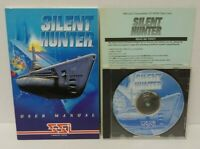 Silent Hunter (PC, 1997) CD-ROM game SSI Mindscape  - Mint Disc 1 Owner !