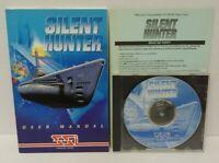 Silent Hunter (PC, 1997) CD-ROM game SSI Mindscape  - Mint Disc 1 Owner !