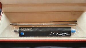 Dupont 925 Silber Kugelschreiber