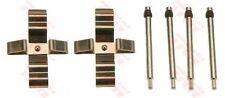 MERCEDES ML270 W163 2.7D Kit di montaggio Pastiglie Dei Freni Posteriore 00 a 05 TRW Qualità Nuovo