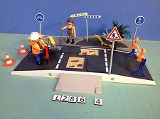 (L286.4) playmobil set chantier ref 4047 4044 4048
