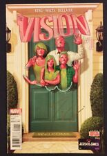 THE VISION #1 Comic Book SIGNED TOM KING COA Never Read High Grade Marvel 2016
