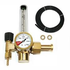 CO2 Single Stage regulator with flow meter CGA 320 Inlet - WRFCO2