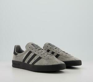 ADIDAS MENS BROOMFIELD TRAINERS GREY BLACK LIMITED STOCK SIZE 7,8,9,10,11