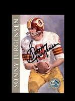 Sonny Jurgensen SGC Mint 9 1998 HOF Signature Series Washington Autograph