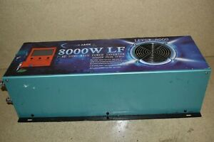 POWER JACK 8000W LF SP SOLAR PURE SINE WAVE POWER INVERTER LFPSW-8000 (QH37)