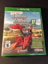 Farming Simulator 17 [ Platinum Edition ]  (XBOX ONE) NEW