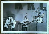LARGE BEATLES HISTORIC 1965 HOLLYWOOD BOWL PHOTO PROMO 12 X 18-   10114