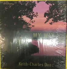 KEITH-CHARLES DUO My Way Private Press Counterpart Records VG+ LP in Shrink