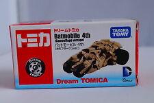 Tomica Dream Batmobile 4th Camouflage Version Batman Car Tomy 2014 January