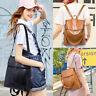 Women PU Leather Backpack Bag Cute Fashion Purse Cross Shoulder Travel Handbag