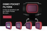 PGYTECH Camera Lens Filter Kit Set ND 8/16/32/64 For DJI OSMO POCKET 2 Gimbal