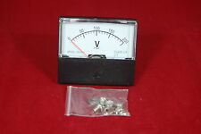 Ac 0 200v Analog Voltmeter Analogue Voltage Panel Meter 6070mm Directly Connect