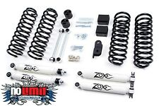 "Jeep Wrangler JK 3"" Lift Kit 2007-2016 4WD Zone Offroad #J12 2-Door Only"