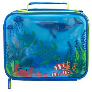 Ocean Adventure Gel Insulated Kids Lunch Bag