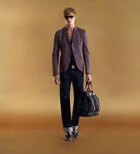 Gucci Runway SCHOOLBOY Hysteria Striped Blazer Jacket 48 IT, Ultra Rare, 51 pics
