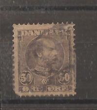 Denmark 1904 50ore used