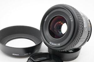[MINT w/ Hood] Nikon AF Nikkor 35mm f/2 D Wide Angle Lens HN-3 From Japan