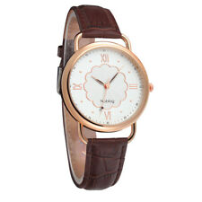 Noblag Mademoiselle Luxury Women's Watches Brown Strap White Dial 40mm
