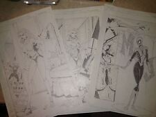 Jamie Biggs original art 3 page Spider-Man Mary Jane story Todd McFarlane like