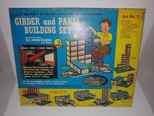 1958 Kenner Girder and Panel Building Set No 3