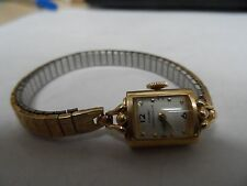 LADIES VINTAGE  GIRARD PERREGAUX 14K GOLD WATCH