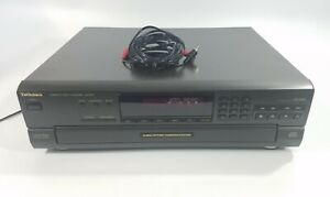Technics SL-PD5 MASH 5 Disc Rotary Changer System CD Player No Remote Tested