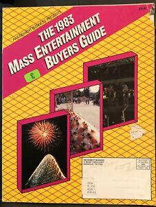 Vintage Amusement Business presents 1983 Mass Entertainment Buyer's Guide