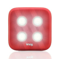 Knog Blinder 1 LED Rechargeable Front Light SilverFixie Road MTB Bike Bicycle