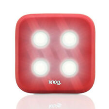 Knog Blinder 4 LED Rechargeable Front Light Red | Road Bike MTB Bicycle Fixie