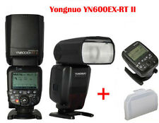 Yongnuo YN600EX-RT II TTL master flash speedlite for canon + YN-E3-RT Controller