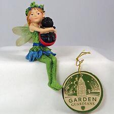 Department 56 Enchanted Garden Sitting Fairy Shelf Pot Sitter 4039863 Retired