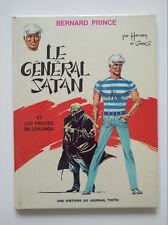 RE 1971 (très bel état) - Bernard Prince 1 (le général Satan) - Hermann
